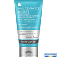 Sunscreen for Oily Skin: Resist Super Light Daily Defense SPF 30 | Paula's Choice Skincare & Cosmetics