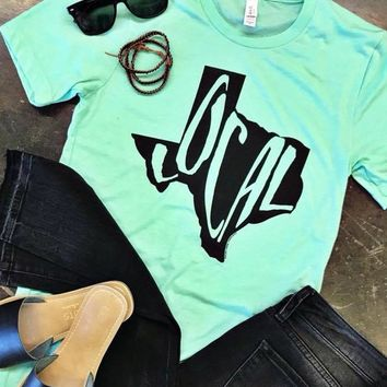 Mint Texas Local Graphic Tee (S-XL)