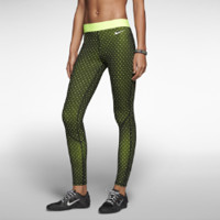 Nike Pro Hyperwarm Tights II Print Women's Tights - Black
