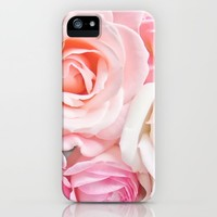 pink roses iPhone Case by sylviacookphotography
