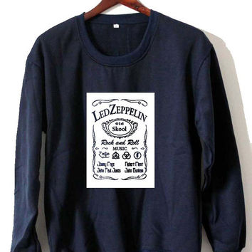 led zeppelin art Sweatshirt Crewneck Men or Women Unisex Size