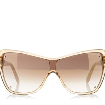 Ekaterina Square Mask Sunglasses