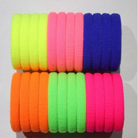 10 Pcs/lot Candy Colored Hair Holders High Quality Rubber Bands Hair Elastics Accessories Girl Women Tie Gum (Mix Colors) = 1958664644