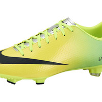 Nike Mercurial Victory IV FG Soccer Cleats - Vibrant Yellow with Black - SoccerMaster.com