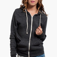 Alternative Apparel Rocky Zip-Up Eco-Fleece Hoodie $50