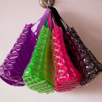 Vinyl Inflatable Bubble Tote Bag