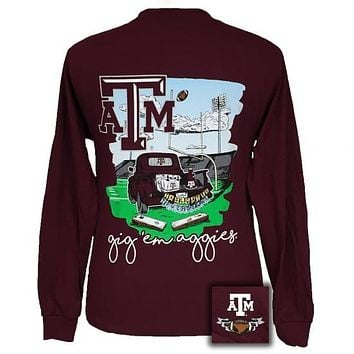 Texas A&M Aggies Tailgates & Touchdowns Party Long Sleeve T-Shirt