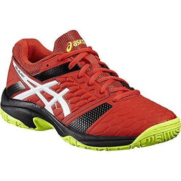 ASICS Gel Blast 7 Men's Indoor Shoes Red/White/Yellow For Squash, Badminton, Racquetball