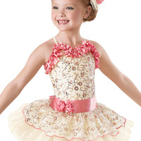 Embroidered Floral Tutu Dress -Weissman Costumes