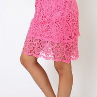 Lace Skirt w/ Underlay