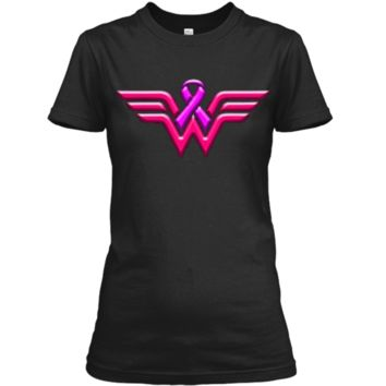Breast Cancer Awareness T Shirt For Women Ladies Custom