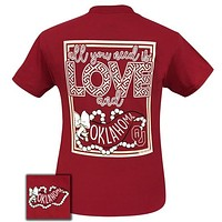 Oklahoma Sooners All You Need Is Love T-Shirt