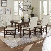 Sanctuary Transitional Dining Table Cherry