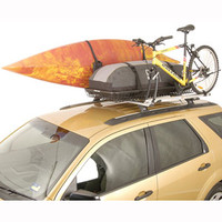 Rhino-Rack rlbh Steel Mesh Half Basket Roof Top Luggage Basket, Cargo Platform - RackWarehouse.com