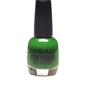 Probelle Textured Dark Green Nail Polish  0.5 oz