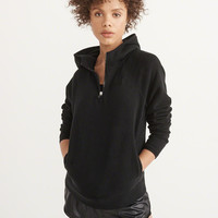 Womens Active Half-Zip Hoodie | Womens Tops | Abercrombie.com