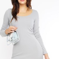 Beautiful Lie Dress - Heather Gray