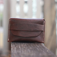 Men Wallets / Leather Wallet / Dark Brown Wallet / Handmade Wallet / Wallets / Bags Wallets - Birthday Gift - Groomsmen Gifts - JooJoobs