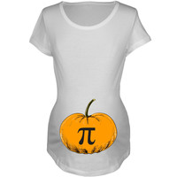 Pumpkin Pi Women's Maternity T-Shirt