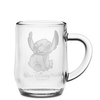 Disney Stitch Glass Mug by Arribas - Personalizable | Disney Store