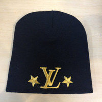 louis vuitton winter hat. louis vuitton keep warm and stay cool :)
