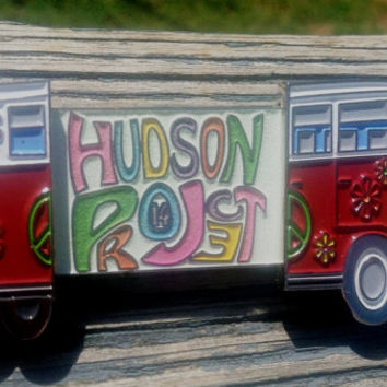 "WEEKEND SPECIAL - Hudson  ""Festyvan"" - VW bus Double Slider - Bassnectar - STS9 - Big Gigantic - Hat Pin"