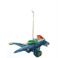 Christmas Ornament - Blue Dragon