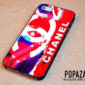 chanel logo colorfull iPhone 5 | 5S Case Cover