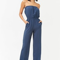 Strapless Woven Jumpsuit