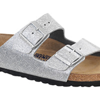 Birkenstock Soft Footbed Magic Galaxy Silver Birko-Flor Arizona