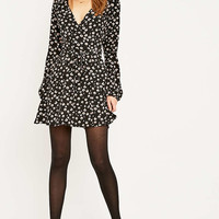 Urban Renewal Vintage Remnants Fixed Wrap Dress - Urban Outfitters