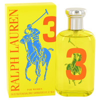 Big Pony Yellow 3 Perfume by Ralph Lauren 3.4 oz