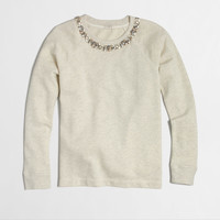 Factory necklace sweatshirt : Knits & Tees | J.Crew Factory