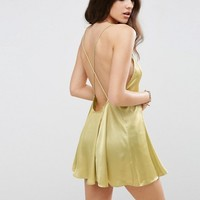 ASOS Matte and Shine Cami Beach Dress at asos.com