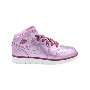 Air Jordan 1 Mid GS Pink Rise