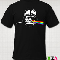 Darth Side of the Moon - American Apparel Graphic T-shirt