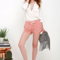 Billabong Road Trippin Washed Blush Shorts