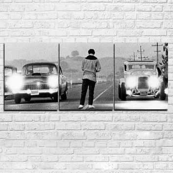 3 Panel Wall Art Once Upon a Time in America Movie Print Man cave Auto Body