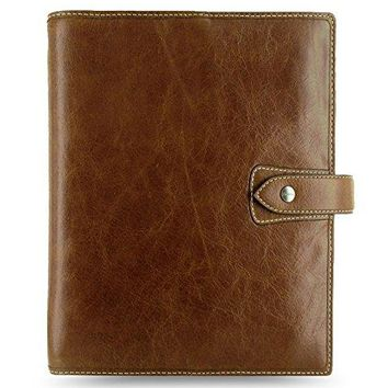 Filofax Malden Leather Organizer Agenda Calendar with DiLoro Jot Pad