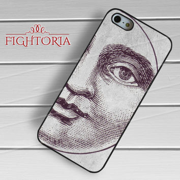Vintage Moon Book -snw for iPhone 6S case, iPhone 5s case, iPhone 6 case, iPhone 4S, Samsung S6 Edge