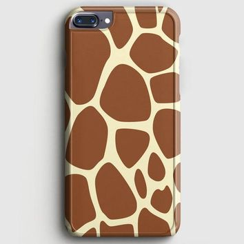 Giraffe Pattern iPhone 7 Plus Case
