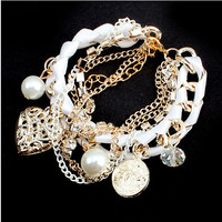 Hot Sale Shiny Great Deal Awesome Gift New Arrival Korean Stylish Pearls Bracelet [6044201281]