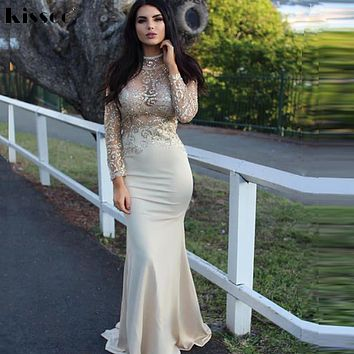 Sexy Hollow Out Sequined Mesh Maxi Dress Patchwork Sequins Backless Nude Bodycon Party Dress Full Sleeved Open Back Gown Dress