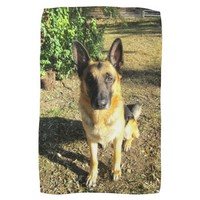 German Shepherd Towel