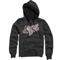 Amazon.com: Fox Racing Good Things Sherpa Zip-Up Hoodie - X-Small/Charcoal Heather: Automotive