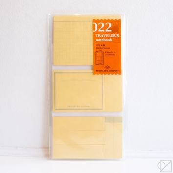 Traveler's Company 022 Sticky Notes