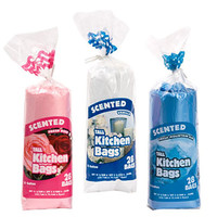 Bulk Scented Tall Kitchen Trash Bags, 13-gal., 28-ct. Rolls at DollarTree.com