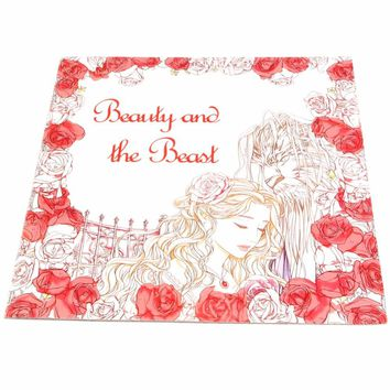 Youngs Books Adult Children English Graffiti Beauty And The Beast Coloring Book
