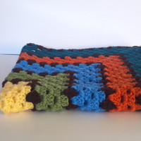 Simply Crotchet Granny Infant Boy Blanket Customize