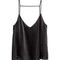 H&M Satin Camisole Top $29.99